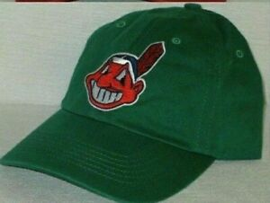 Cleveland Indians Polo Style Cap ⚾Hat ⚾CLASSIC MLB PATCH/LOGO ⚾7 HOT COLORS ⚾NEW