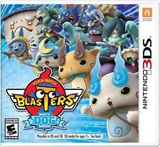 New! Yo- Kai Watch Blasters: White Dog Squad Nintendo 3DS 2DS Free Shipping #$