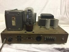Vintage Heathkit W5M W-5M 6L6 Peerless Mono Tube Amplifier