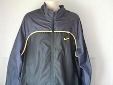 Nike Mens XXL Black Windbreaker Coat Jacket Sports