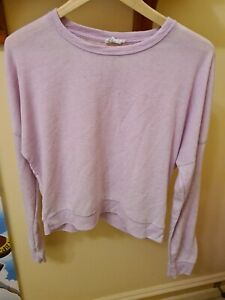 COTTON ON BODY Pink Ladies Long Sleeve Sports Top Size M