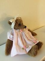 mohair bear shabby chic OOAK please contact me for dispatch time