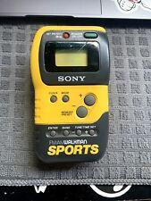 Vintage Sony Walkman Sports FM/AM Portable Radio SRF-M70