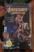 ADVENTURES IN BABYSITTING  MOVIE TIE IN PAPERBACK  BOOK  1ST PRINT  1987