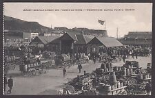 Postcard Jersey Channel Islands early Weighbridge During Potato Season horse FF