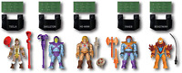 Mega Construx Heroes Battle of Eternia Collection, 5 Collectible Action Figures