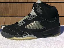 Nike Air Jordan Retro V 5 Black Metallic 136027-001 (2000 Release)DEADSTOCK 10.5