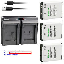 Kastar Dual Charger Battery for Nikon EN-EL19 Nikon Coolpix S2500 Coolpix S2550