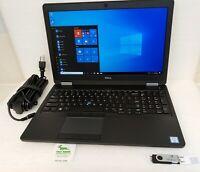 """Dell Latitude E5570 15.6"""" FHD Laptop Intel i5-6300u 2.4Ghz 8GB 256GB Win 10 Pro"""