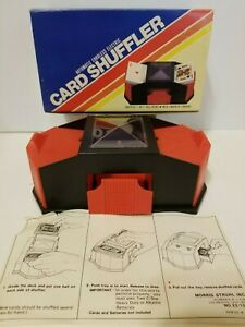 Morris Struhl Automatic Cordless Electric Card Shuffler Collectible Japan