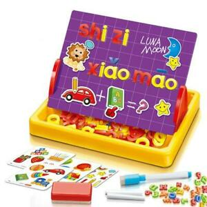 Kids Drawing Board Writing Sketch Pad With Accessories Alphabets Letters Marker