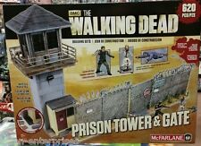 McFarlane Toys Building Sets The Walking Dead TV Prison Tower & Gate Building
