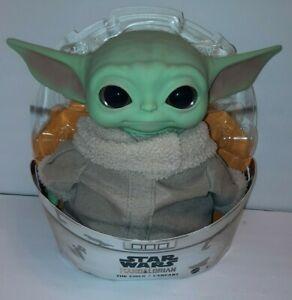 "D39 Baby Yoda Doll Star Wars 2020 Mandalorian The Child 11"" Plush Mattel GWD85"