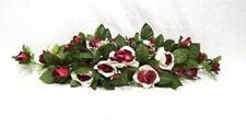 Rose Swag Cream Burgundy Wedding Silk Centeripece Flowers Arch Gazebo Diy