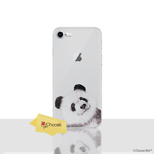 Panda Phone CaseCover for Samsung Galaxy S7 G930 With Screen Protector Sili