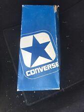 Nib Vintage 1966-77 Oxford Converse Tennis Shoes Sz 10 Light Blue Antique Old