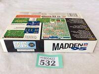 snes super nintendo Madden 95
