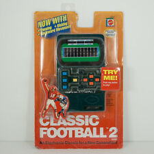 Mattel Classic Football 2 Electronic Handheld Game New SEALED 2002