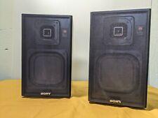Pair of Vintage Sony Speaker System APM-2000
