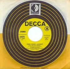YVONNE ELLIMAN - EVERYTHING'S ALRIGHT - DECCA - PRO 45