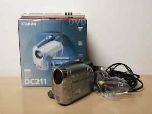 TELECAMERA VIDEOCAMERA DIGITALE DVD CANON DC211 HANDYCAM CAMCORDER MINI DVD R RW