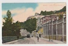 Naples,Italy,Corso Vittorio Emanuele,Trolley Car,Used,Napoli,1919