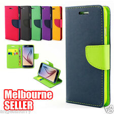 Samsung Galaxy S6 Edge Credit Card Wallet Flip Leather Pouch Phone Case Cover