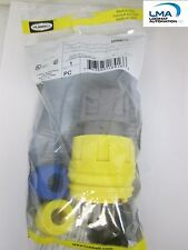 HUBBELL 26W47H WATERTIGHT PLUG MALE CONNECTOR 20A 125V *** NEW