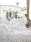 IKEA Quilt cover pillowcases floral SINGLE QUEEN KING SIZE 100% COTTON
