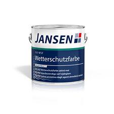 Jansen Iso-wsf Wetterschutzfarbe weiß 2 5l