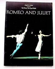 Vintage 1966 ROMEO & JULIET THEATRE PROGRAM NUREYEV ROYAL BALLET 28 pgs PHOTOS +