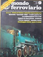 Mondo Ferroviario n°9 Speciale Locomotiva D 342 - 2°parte  [TR.6]