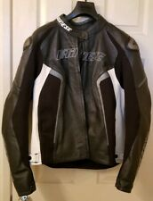 Dainese Women's Motorcycle D1 Perforated Leather Jacket - size 52 - WORN TWICE!