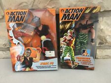 Lot 2 Figurines Action Man / Action Joe Jungle Commando + Kung Fu - Hasbro 1994