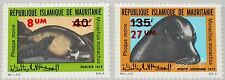 MAURITANIA MAURETANIEN 1973 465-66 307 C145 Seals Robben new Currency ovp MNH