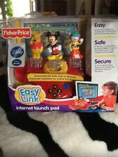New Fisher Price Easy Link Internet Launch Pad Disney Mickey Mouse Ages 3+