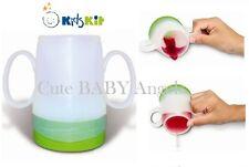 Kids Kit formazione Bere Cup non Spill bambino Lo svezzamento in vetro-riduce l'ostruzione