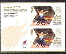 GB 2012 Juegos Paralímpicos/Olimpiadas/Deporte/ganadores de medalla de oro/Hannah Cockroft 2 V n36313