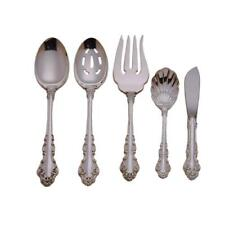 Reed & Barton Spanish Baroque Sterling Silver 5 Pc Hostess Serving Set New