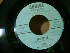 ORIG PRESSING MINT/M- NORTHERN SOUL 45~LINDA & VISTAS~BAD APPLE/SHE WENT~LISTEN
