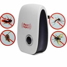 PEST REPELLER ANTI ZANZARE TOPI INSETTI REPELLENTE ULTRASUONI ELETTRONICO