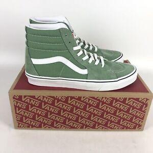 Vans Suede SK8-Hi Skate Shoes Mens Size 11 Shale Green VN0A32QG4G6