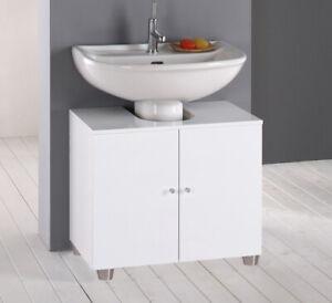 Mobile Bagno Sotto lavabo COPRI COLONNA lavandino standard L60xP45 MADE IN ITALY