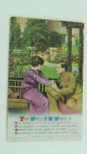 WW1 Patriotic Song Postcard 4942/2 Pte William H Perry Army Service Corps MT BEF