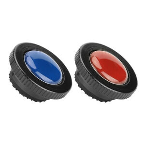 2 Color ROUND-PL Quick Release Plate fit for Manfrotto Compact Action Tripods