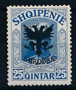 [30122] Albania 1920 Good stamp Very Fine MH pencil signed