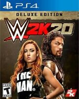 2K Games WWE 2K20: Deluxe Edition (PlayStation 4)