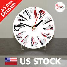 Nike Air Jordan Wall Clock Decor CD Shelf Table Art Design Birthday Gift Ideas