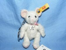Steiff Keyring Tiny Mouse Jointed Bear Pendant New Gift Present Handbag Charm
