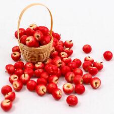 25PCS Red Apple Fruit 1:12 Miniature Dollhouse Doll Handmade Food Supply A1449